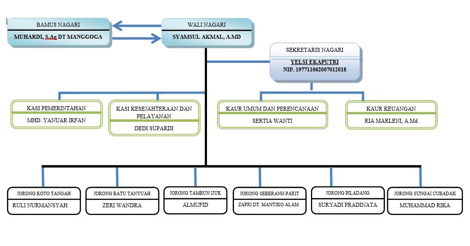 Struktur Organisasi Nagari